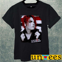 Low Price Men's Adult T-Shirt - My Chemical Romance Gerard Way Vocalist design
