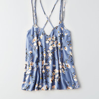 AEO Strappy Back Cami, Blue