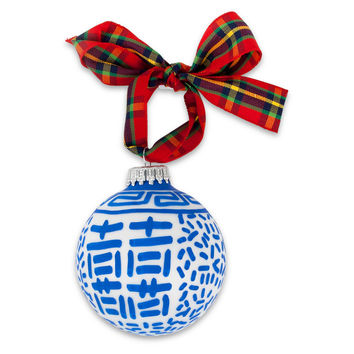 Double Happiness Ornament
