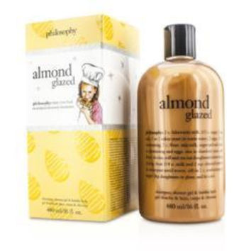 Almond Glazed Shampoo, Shower Gel & Bubble Bath --480ml-16oz