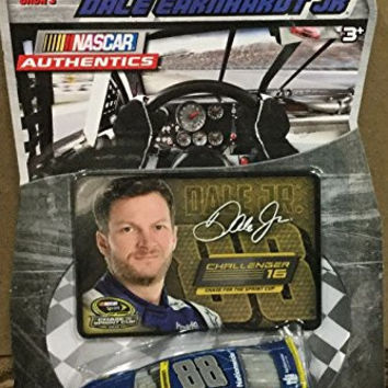 2015 Challenger Segment Chase for the Cup Dale Earnhardt Jr #88 Nationwide Paint Scheme NASCAR Authentics 1/64 Scale Diecast With Collector Card