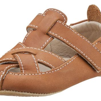 Old Soles Boy's and Girl's Thread Fisherman Leather Sandals