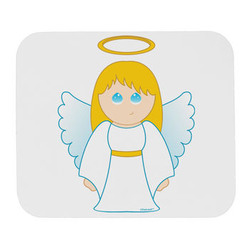 Cute Christmas Angel Girl Mousepad