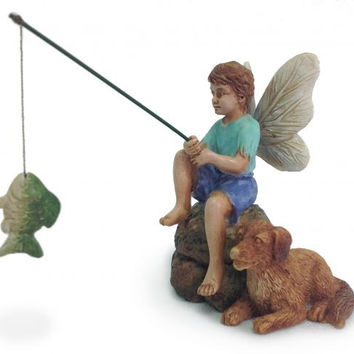 MHG Fairy Garden Gone Fishin