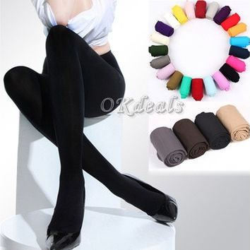 1 Pair 8 Colors NEW Sexy Women Lady Beauty Opaque Thine Footed Dance Tights Pantyhose Stockings [8805246471]