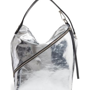 Proenza Schouler Medium Metallic Leather Hobo Bag | Nordstrom