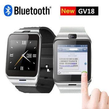 OGEDA Smart Watch GV18 with Camera Sync Notifier Support Sim Card Bluetooth For IOS Android Phone