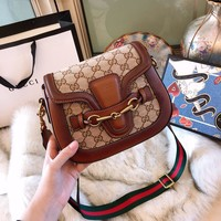 Gucci Jacquard crossbody bag