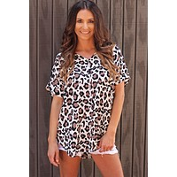 The Lovely Leopard Top