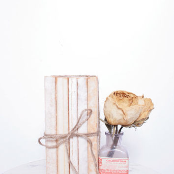 Made to Order Softback Book Bundles that Have Been Wrapped with Twine