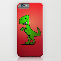 T-Rex - Dinosaur iPhone & iPod Case by Cardvibes