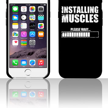 installing muscles 5 5s 6 6plus phone cases