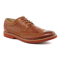 Buks by Walk Over Durney Casual Wingtip Oxfords - Tan