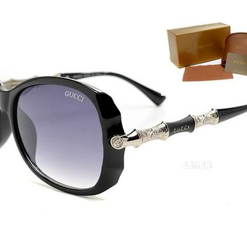 Gucci sunglass AA Classic Aviator Sunglasses, Polarized, 100% UV protection [2974244875]