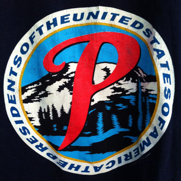 Vintage Rare 1994 Presidents of the United States of America Tour Shirt PUSA Size M Rainier Beer Logo Grunge Primus Morphine 90's