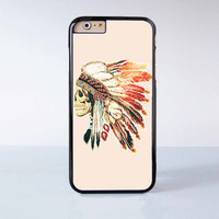 "Indian skeleton plastic phone case for iPhone 6 (4.7"")  More case style can be selected"