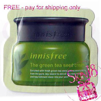 Freebies - Innisfree The Green Tea Seed Eye Cream (Sample Pack)  *exp.date 05/20