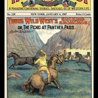 Wild West Weekly: Young Wild Wests Bucking Broncos 20x30 poster