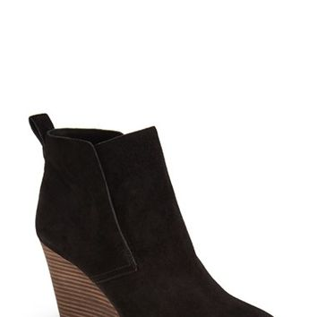 Women's Lucky Brand 'Yoniana' Wedge Bootie,