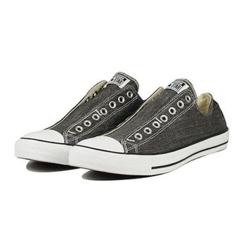 MDIGH3W Converse: Chuck Taylor Slip On Black Sneaker