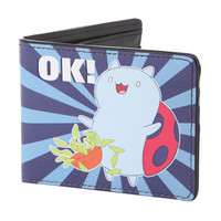 Cartoon Hangover Bravest Warriors Catbug Ok! Bi-Fold Wallet