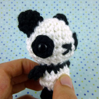 Baby Panda - Made to Order - Crocheted Plushie