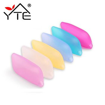 Food Grade Toothbrush Holder Head Case Cap Eco-Friendly Silicone Cover Portable Travel Toothbrush Holder Bathroom Accessories
