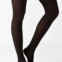 Basic Sheer Ribbed Tight - Urban Outfitters