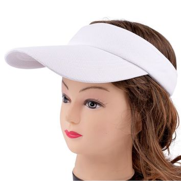 Visor Hat Summer Women's Sun Brand Hat Baseball Caps Adjustable Size Viseira Beanies Beach Cap LQH002