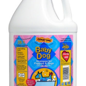 Crazy Dog Baby Dog Puppy Shampoo 1 Gallon