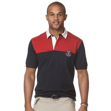 Chaps Hutchinson Rugby Polo - Big & Tall, Size: