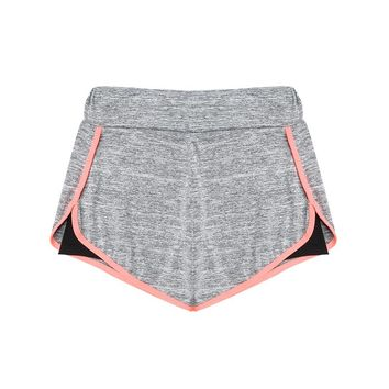 Teenager Girls Shorts Sports Running Clothes Two Layer Cotton