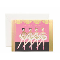 Ballet Birthday Greeting Card