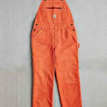 Vintage Orange Pointer Brand Overall- Assorted One