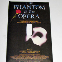 Light Switch Cover - Light Switch Plate Phantom of the Opera Musical Broadway