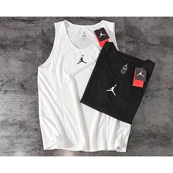 AIR JORDAN 2019 new men's basketball quick-drying fitness vest