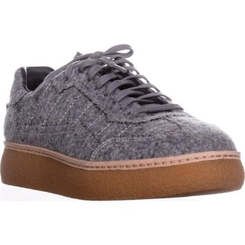 Alexander Wange Eden Platform Sneakers , Heather Gray, 6 US / 36 EU