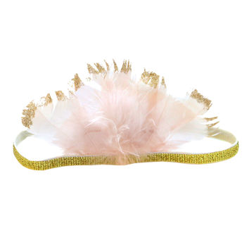 Pixie Feather Crown Headband