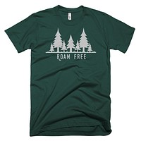 Roam Free Pine Tree T Shirt