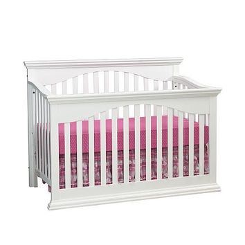 Essentials Greenwich Lifetime Crib- White