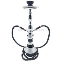 DCCKL72 Big shisha hookah frosted flower a full set of hookah chicha narguile, double pipe smoke a water pipe, easy to use free shipping