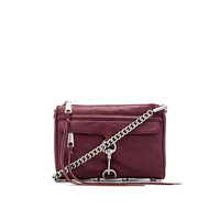 Rebecca Minkoff Mini MAC in Port