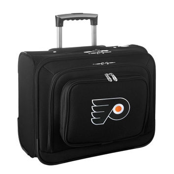Philadelphia Flyers Carry-On Rolling Laptop Bag - Black - http://www.shareasale.com/m-pr.cfm?merchantID=7124&userID=1042934&productID=540329272 / Philadelphia Flyers