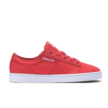Supra - Women's Stacks II - Cayenne Red