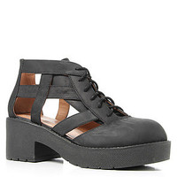 Jeffrey Campbell The Thomb Boot in Black Distressed : Karmaloop.com - Global Concrete Culture