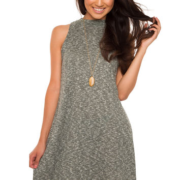Elisabeth Swing Dress - Olive