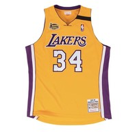 Mitchell & Ness Authentic Shaq Lakers Final Jersey 99-00