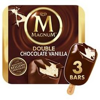 Magnum® Double Chocolate Vanilla Ice Cream Bars - 3ct