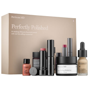 Sephora: Perricone MD : Perfectly Polished No Makeup Skincare Essentials Set : skin-care-sets-travel-value