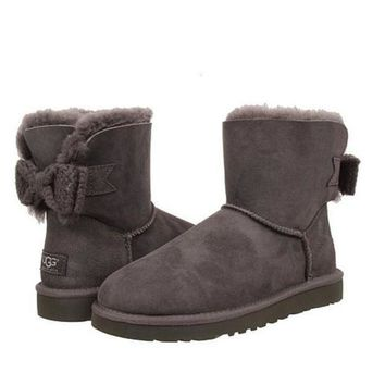 PEAP UGG Bow tie snow boots